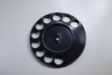 GPO Black Rotary Telephone Finger Dial